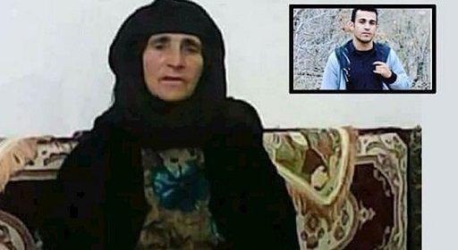نامه مادر رامین حسین پناهی