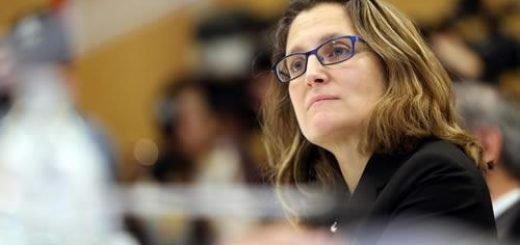 کریستیا فریلند، وزیر امور خارجه کانادا