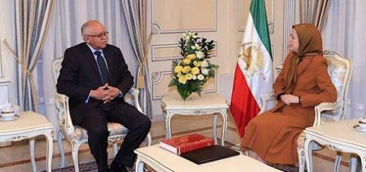 دیدار مریم رجوی با سفیر یمن در فرانسه