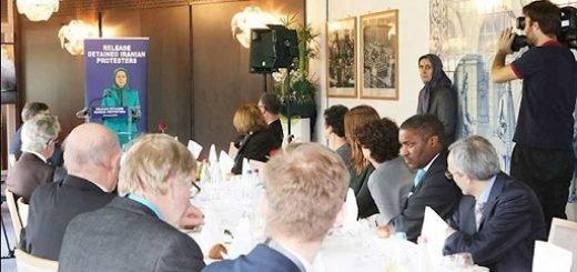 مریم رجوی در گردهمایی نمایندگان گروههای مختلف شورای اروپا