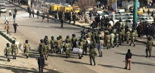ترس رژیم از سرنگونی و گسیل گارد ویژه برای سرکوب جوانان قیام