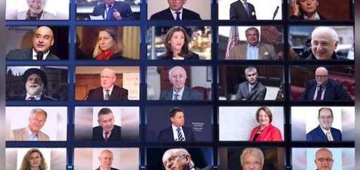 پارلمانتر و شخصیتهای اروپایی