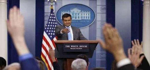 سخنگوی کاخ سفید-راج شاه