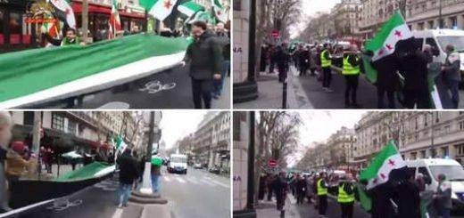 تظاهرات-سوریه-پاریس