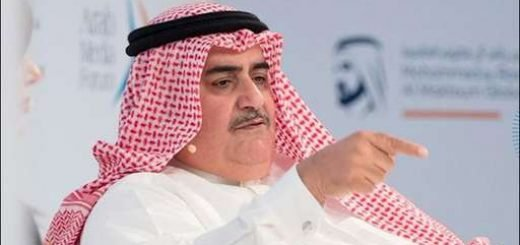 خالد بن احمد آل خلیفه وزیر خارجه بحرین