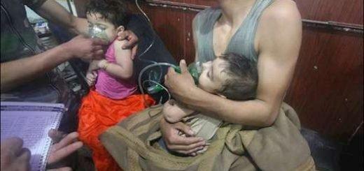 حمله شیمیایی به دوما در سوریه