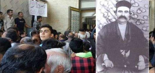 ناصر دیوان کازرونی و خیزش مردم کازرون