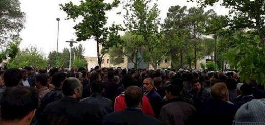 تظاهرات و درگیری گسترده در اصفهان