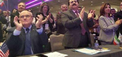 رودی جولیانی در کنوانسیون آزادی ایران در آمریکا