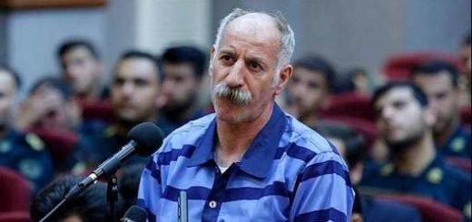محمد ثلاث در بیدادگاه رژیم ایران