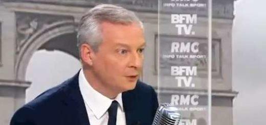 وزیر اقتصاد فرانسه