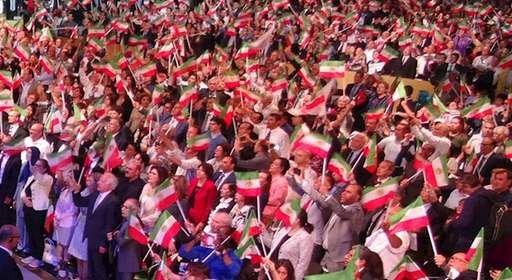 گردهمایی بزرگ مقاومت ایران_۹تیر۱۳۹۶