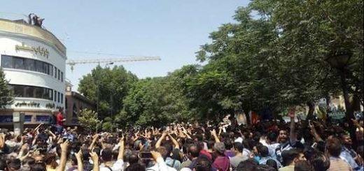 اعتصاب سراسری بازار تهران