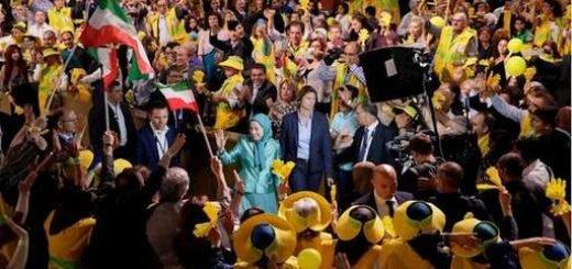 گردهمایی ایرانیان در پاریس با حضور مریم رجوی - آرشیو