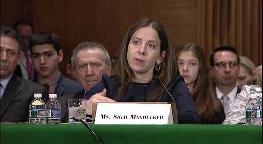 سیگال ماندلکر معاون وزیر خزانه داری آمریکا
