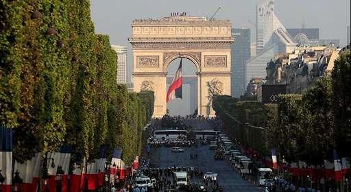 جشن ملی فرانسه ـ روز باستیل سالگر انقلاب کبیر فرانسه