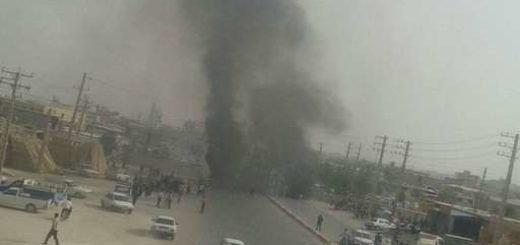 جوانان دلیر جاده برازجان ـ بوشهر را مسدود کردند