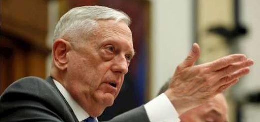 جیمز متیس وزیر دفاع آمریکا
