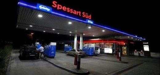 پمپبنزینی که اسدالله اسدی دیپلمات رژیم ایران در آنجا دستگیر شد