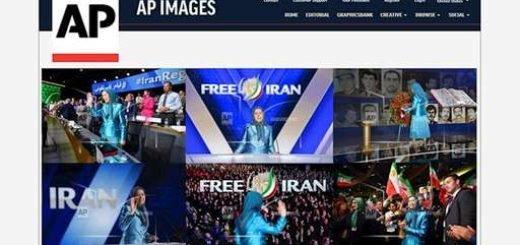 آسوشیتدپرس - گردهمایی بزرگ ایرانیان در پاریس