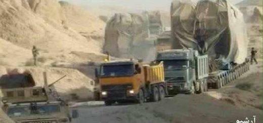 انتقال موشکهای بالستیکی از ایران به عراق