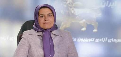 سهیلا صادق مسئول کمیسیون شورای ملی مقاومت ایران