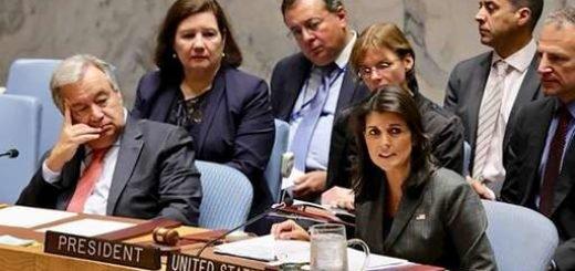 نیکی هیلی در نشست سازمان ملل