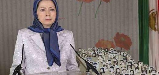 مریم رجوی اعدام جنایتکارانه و حملات موشکی را محکوم کرد