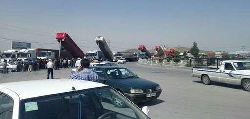 اعتصاب رانندگان کامیون در یازدهمین روز