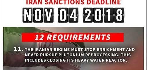 وزارتخارجه آمریکا: ۱۱روز مانده به ضربالاجل ۴نوامبر- رژیم ایران بایستی غنیسازی را متوقف کند