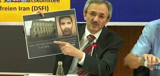 عملیات امنیتی فرانسه علیه تروریسم رژیم ایران /گزارش اسکای نیوز