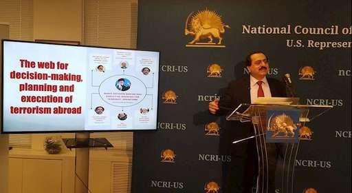 کنفرانس مطبوعاتی دفتر نمایندگی شورای ملی مقاومت در آمریکا: افشای شبکه تروریستی رژیم ایران در اروپا و آمریکا