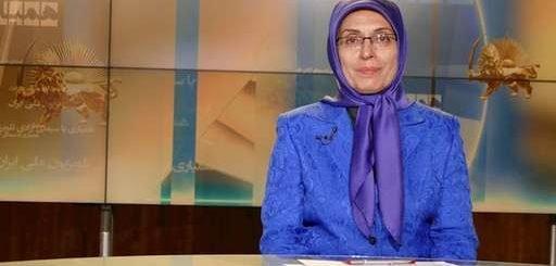خواهر مجاهد زهره اخیانی در برنامه گلریزان همیاری با سیمای آزادی: این رژه با شکوه حمایت مردم از مقاومت است