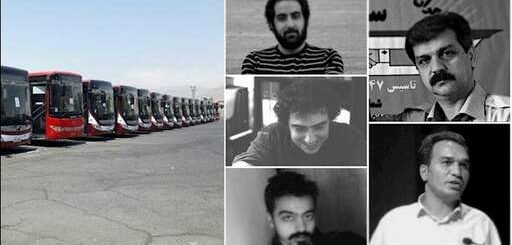 دستگیری تعدادی از اعضای سندیکای اتوبوسرانی شرکت واحد در تهران