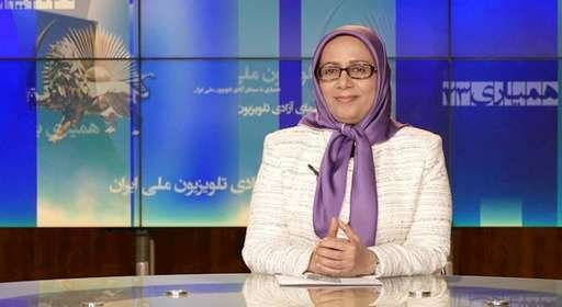 خواهر مجاهد فرشته یگانه در برنامه همیاری با سیمای آزادی ۱۰ آذر ۱۳۹۷