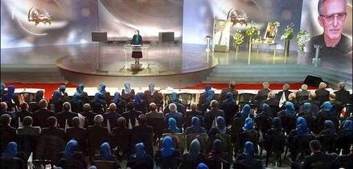 سخنرانی مریم رجوی در بزرگداشت مجاهد صدیق محمد سیدی کاشانی