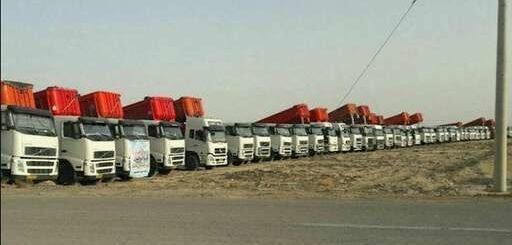 آغاز اعتصاب کامیونداران در پنجمین دور + فیلم