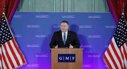 مایک پمپئو: رژیم ایران پولهای بهدست آوردهاش را در اختیار تروریستها و دیکتاتورها قرار میدهد