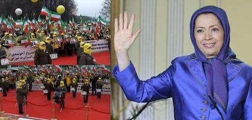 پیام مریم رجوی به تظاهرات ایرانیان آزاده در ورشو- بهرسمیت شناختن حق مقاومت مردم ایران برای سرنگونی فاشیسم دینی
