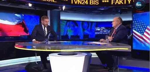 رودی جولیانی در مصاحبه با تلویزیون لهستان: آلترناتیو رژیم ایران توسط یک زن رهبری میشود