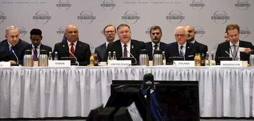 پایان اجلاس ورشو، مایک پمپئو: حتی یک کشور حاضر به دفاع از رژیم ایران نشد