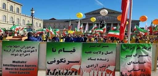 اسکای نیوز: در مونیخ ظریف عصبانی بود، صدها ایرانی خواستار اخراج او شدند