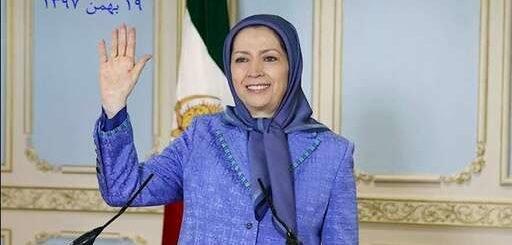 پیام مریم رجوی به تظاهرات ایرانیان در پاریس: شما فریاد هر ایرانی برای آزادی، جمهوری، دموکراسی و سرنگونی حاکمیت آخوندی هستید