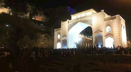 گرامیداشت قربانیان سیل اخیر در دروازه قرآن شیراز+فیلم