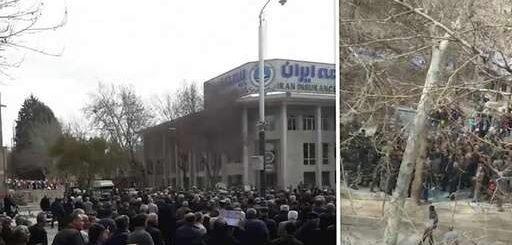 تظاهرات صدها نفر از بازنشستگان فولاد اصفهان - چهارشنبه ۱۵ اسفند ۹۷ + فیلم