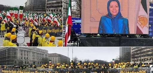 پیام مریم رجوی به تظاهرات روز ۸مارس در واشنگتن