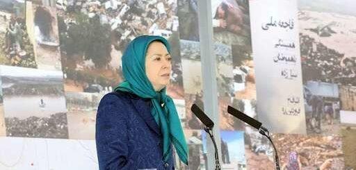 سخنرانی مریم رجوی - همبستگی و همدردی با هموطنان غرقه در سیلاب و ویرانی