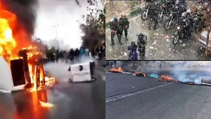 دیکتاتوری آخوندی در شعلههای آتش خشم شهرهای شورشی- افشین علوی