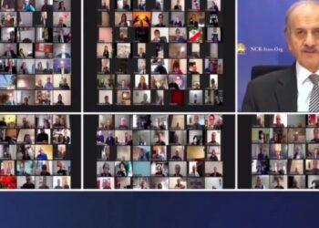 بزرگداشت مجاهدکبیر حمید اسدیان در گردهمایی آنلاین کانادا