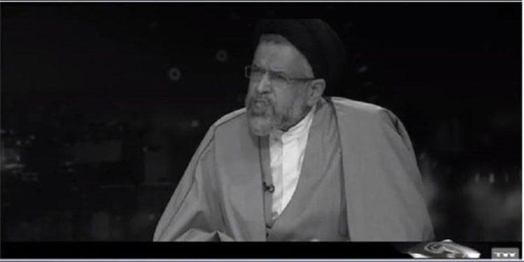 آخوند علوی اعتراف میکند: فیلمها و سریالها برای شیطان سازی از مجاهدین کار وزارت اطلاعات است